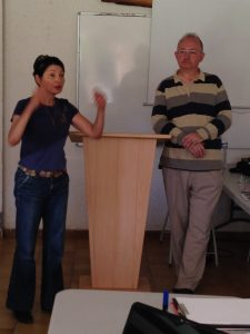 Pasteurs Danielle Drucker et Pascal Girard